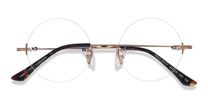 Golden Palo Alto -  Metal Eyeglasses