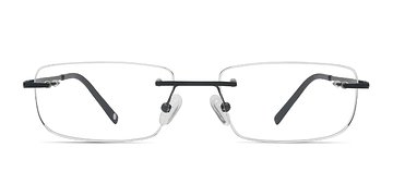 Black Port -  Titanium Eyeglasses
