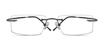 Black Divide -  Designer Titanium Eyeglasses