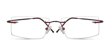 Red Divide -  Lightweight Titanium Eyeglasses