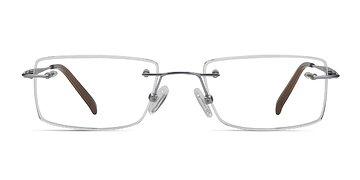 Silver Wheeler -  Titanium Eyeglasses