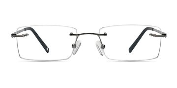Silver Pinnacle -  Designer Titanium Eyeglasses