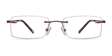 Red Pinnacle -  Designer Titanium Eyeglasses