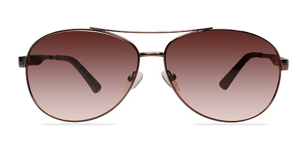 Santorini prescription sunglasses (Brown)