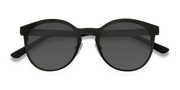 Copenhagen prescription sunglasses (Matte Black)