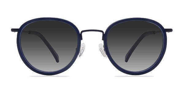 Siena prescription sunglasses (Matte Navy)