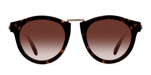 Milano prescription sunglasses (Brown/Tortoise)