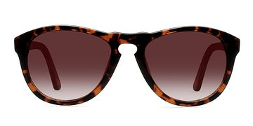 Brown/Tortoise Barcelona -  Plastic Sunglasses