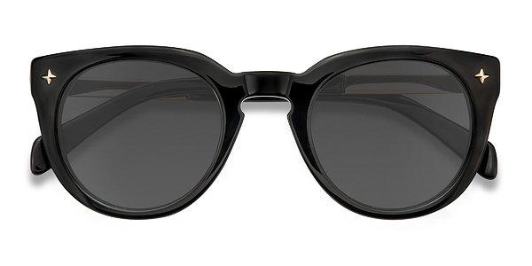 Zoe prescription sunglasses (Black)