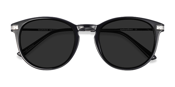 Monroe prescription sunglasses (Black)