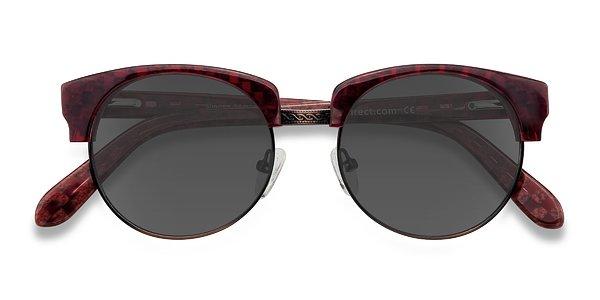 Simone prescription sunglasses (Red)