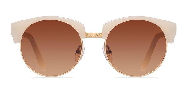 Simone prescription sunglasses (Ivory/Golden)