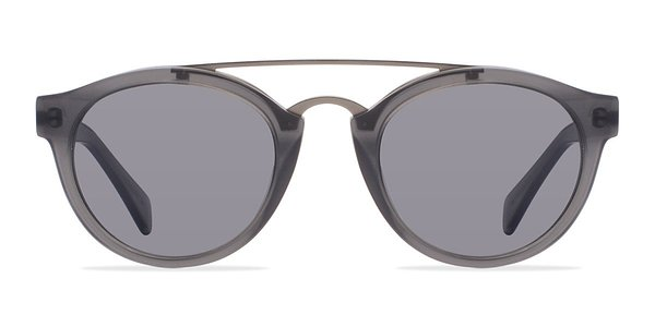 Enzo prescription sunglasses (Matte Gray)