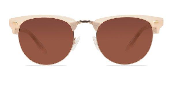 The Hamptons prescription sunglasses (Matte Beige)