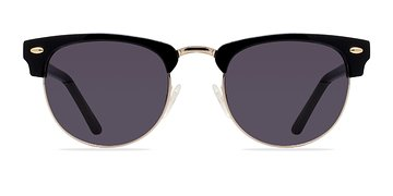Black/Golden The Hamptons -  Acetate Sunglasses