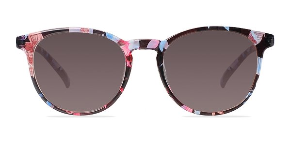 Deja vu prescription sunglasses (Blue/Floral)