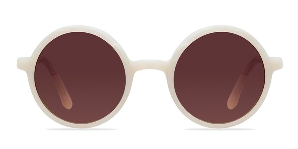 Alena prescription sunglasses (White)