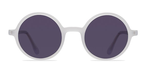 Alena prescription sunglasses (Matte Clear)