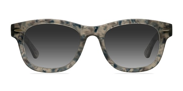 Hanoi prescription sunglasses (Clear Floral)
