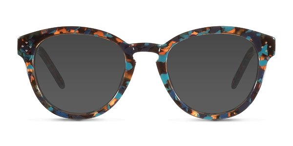 Augustine prescription sunglasses ( Blue Floral )