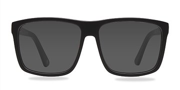 Matte Black Perth -  Acetate Sunglasses