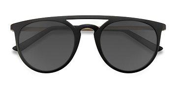Black Benicia -  Metal Sunglasses