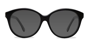 Dark Gray Stella -  Acetate Sunglasses