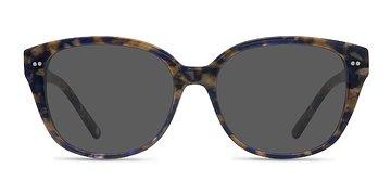 Purple Floral  Lune Noire -  Acetate Sunglasses