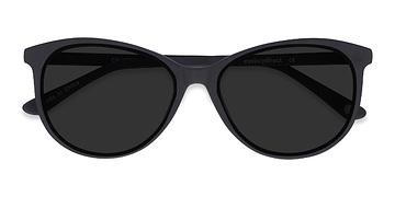 Black  Calypso -  Plastic Sunglasses