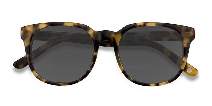 Tortoise Tempest -  Acetate Sunglasses