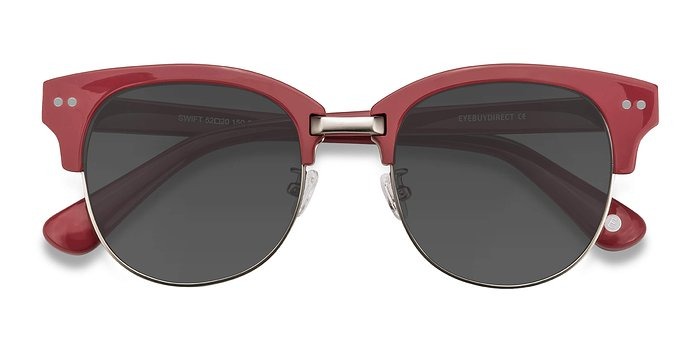Red Swift -  Acetate Sunglasses