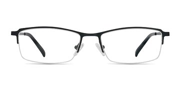 Black Hatch -  Lightweight Titanium Eyeglasses