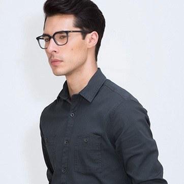 Blue  Ornette -  Colorful Acetate Eyeglasses - model image