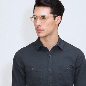 Yellow Runaway -  Fashion Eyeglasses - model image
