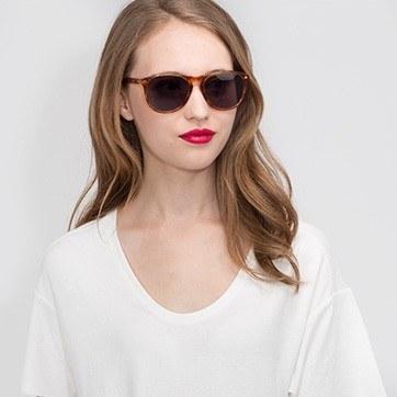 Tortoise  Deep End -  Acetate Sunglasses - model image