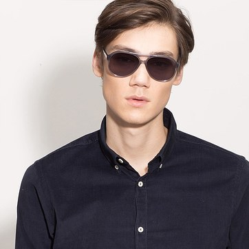 Gray Jakarta -  Acetate Sunglasses - model image