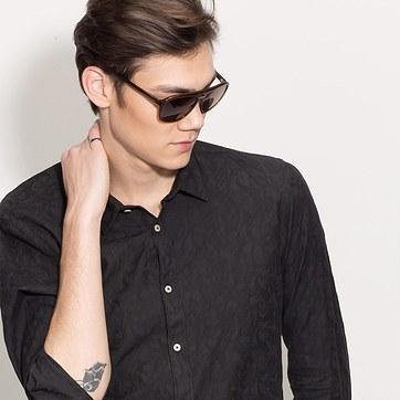 Brown Blair -  Acetate Sunglasses - model image