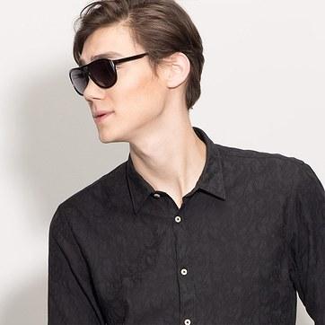 Black Blair -  Acetate Sunglasses - model image