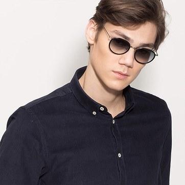 Black Sun Tea -  Acetate Sunglasses - model image