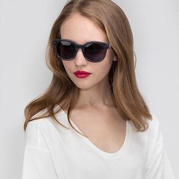 Gray Till Sunset -  Acetate Sunglasses - model image