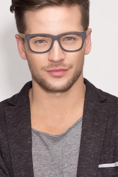 Black Acetate Eyeglasses